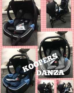 koopers danza infant carseat