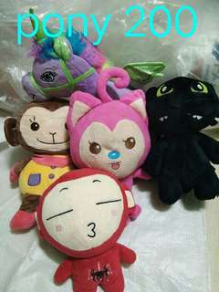 Stuff toys bundle