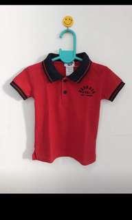 OshKosh Bigosh Red Polo Shirt