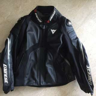 Dainese Super Rider Perforated Leather Jacket Size 54