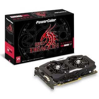 🚚 PowerColor Red Dragon Radeon™ RX 480 4GB GDDR5 (AXRX 480 4GBD5-3DHD)