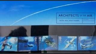 皇家郵政Royal Mail航空Architecture of AIR套摺