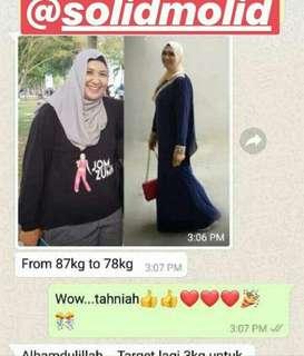 *SOLID MOLID BY IFA RAZIAH mmg produk kurus terbaikkkkk 2018😍