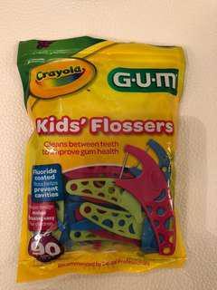 Crayola GUM kids' flossers