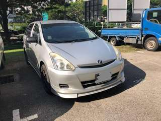 Toyota Wish 1.8A facelift 2008 Fabric seat Fullbdoykit