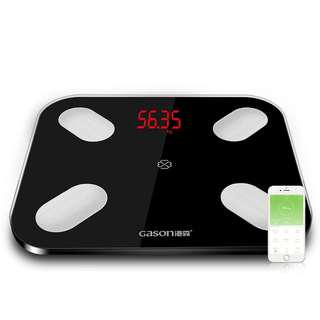 Body Fat Scale Weighing Machine Floor Scientific Smart Electronic LED Digital Weight Bathroom Balance Bluetooth APP Android or IOS