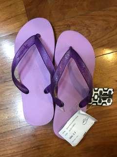 Ipanema Kids Slippers (size: US2/3, EUR 33/34)