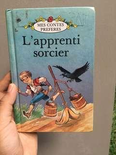 BUKU ANAK BERBAHASA PRANCIS - L'apprenti sorcier