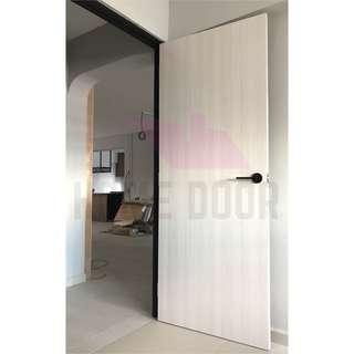 Solid Laminate bedroom door for BTO/HDB