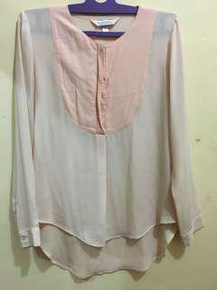 REPRICE kivee peach shirt