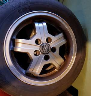 RARE ORIGINAL IMMACULATE VOLVO TURBO RIMS - VIRGO