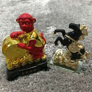 Take both for Php2200!!! Monkey and Horse