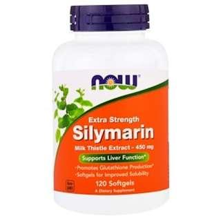 Now Foods, Silymarin, Extra Strength, 120 Softgels