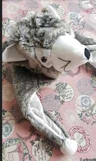Topi wolf anak 2-3th lucu