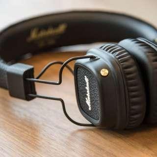 Marshall Major 2 bluetooth headphones