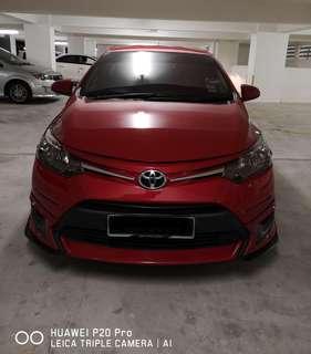 Toyota Vios Spec J 1.5 (A) (Convert TRD)