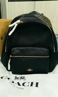 Tas Backpack Coach Original Second Preloved Authentic Bag