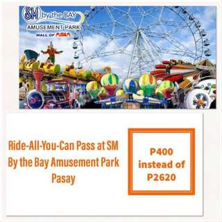 Ride-All-You-Can Pass at SM By the Bay Amusement Park Pasay