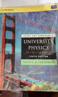 University Physics (10th Ed)