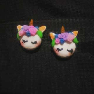 Polymer Clay Earrings and Keychains