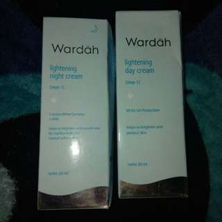 Wardah lightening night and day cream
