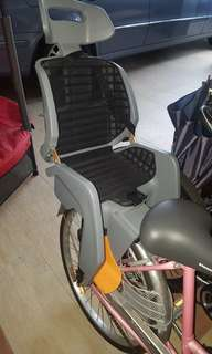 Bicycle with child seat for sale