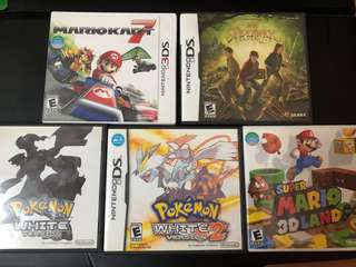 3DS & DS Games