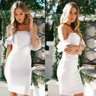 Off Shoulder Dress (Bodycon)