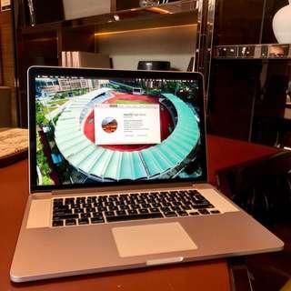 """MacBook Pro 15"""" Retina i7, 16GB RAM, 768GB SSD (Mid-2012)"""