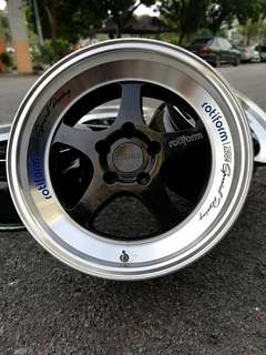 Rotiform ROC 17 inch sports rim civic fd fb inspira
