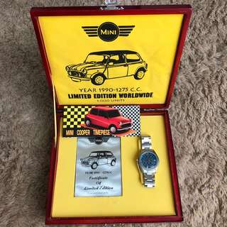 Limited Edition-Mini Cooper Watch Year 1990