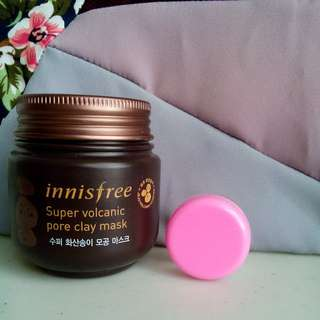 🌸innisfree super volcanic pore clay mask