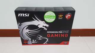 Graphics Card: MSI R9 270X Twin Frozr