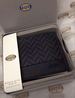 Fossil Beckette Charcoal Wallet