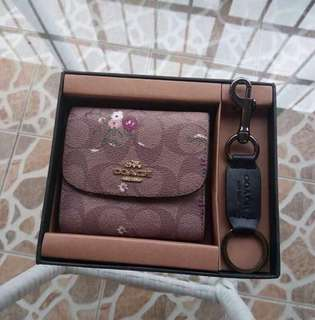 Coach wallet with free Key Chain