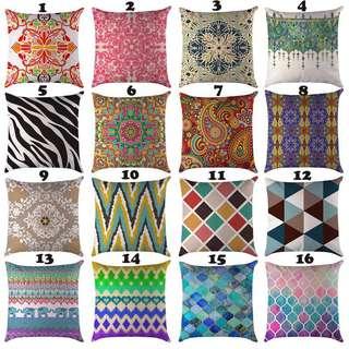 P.O. Cushion Covers