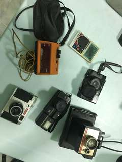 Vintage camera & electronics #sj50