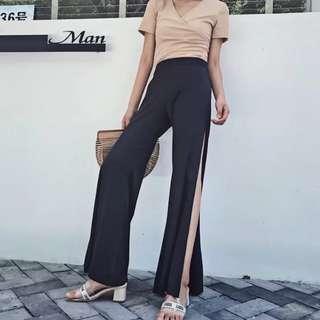 Black pant / celana hitam / celana panjang