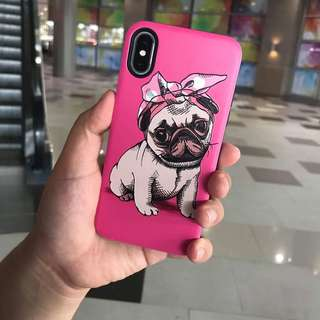 PUG thick case for iPhone X
