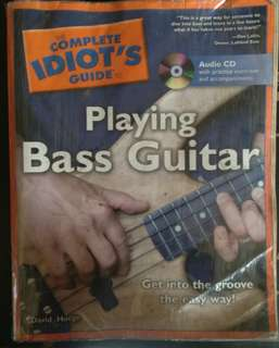 The complete idiots guide to playing bass guitar