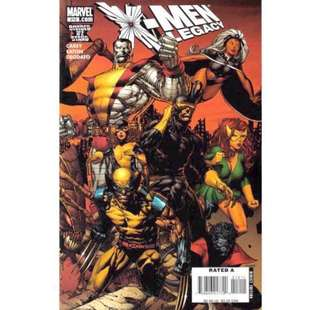 X-MEN LEGACY #212 (2008) David Finch - Guest Artist STGCC 2018!