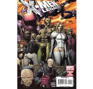 X-MEN LEGACY #210 (2008) David Finch - Guest Artist STGCC 2018!