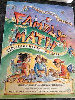 Family Maths- The Middle School Years
