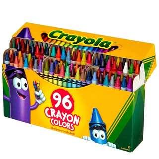 BN Crayola Crayon 96 Colours