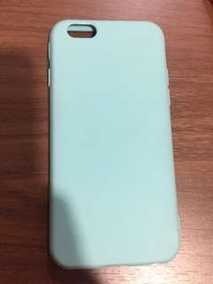 🙉iphone 6/6s blue hard jelly case🙉