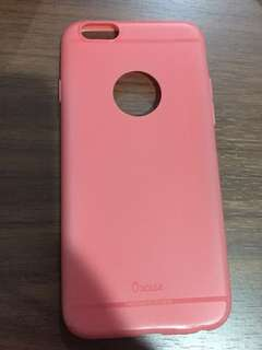 🙉iphone 6/6s pink jelly case🙉