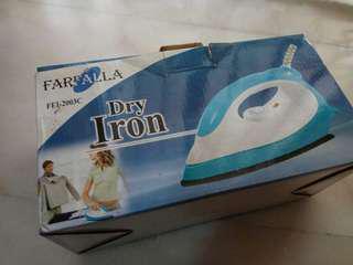 MOVING HOUSE: Farfalla dry iron cheap