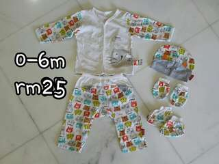 Pureen Baby Clothes set