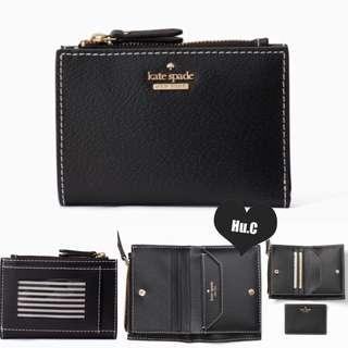 代購店 🖤 美國直送 ✈️🇺🇸 美國代購 🇺🇸 Kate Spade Wallet 短款銀包 裡面連CARD HOLDER 有黑色 藍色 杏色 粉紅色