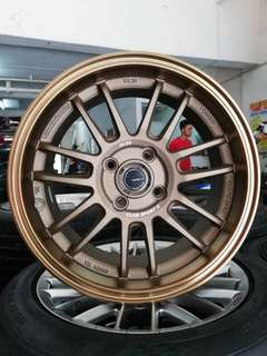Re30 15 inch club sport sports rim myvi alza vios